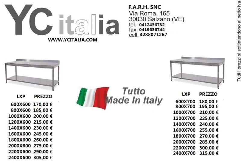 意大利餐馆设备公司-不锈钢工作台出厂价意大利境内包邮