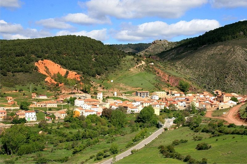 Albarracín, Teruel有长城的地方