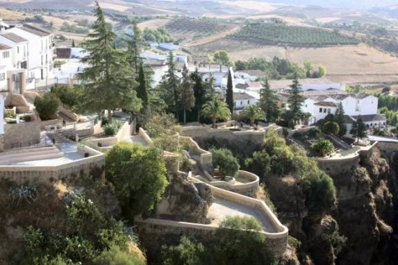 Ronda, Málaga适合情人私奔的地方