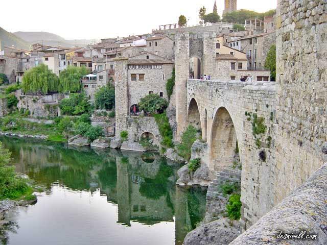 景点Besalú, Girona