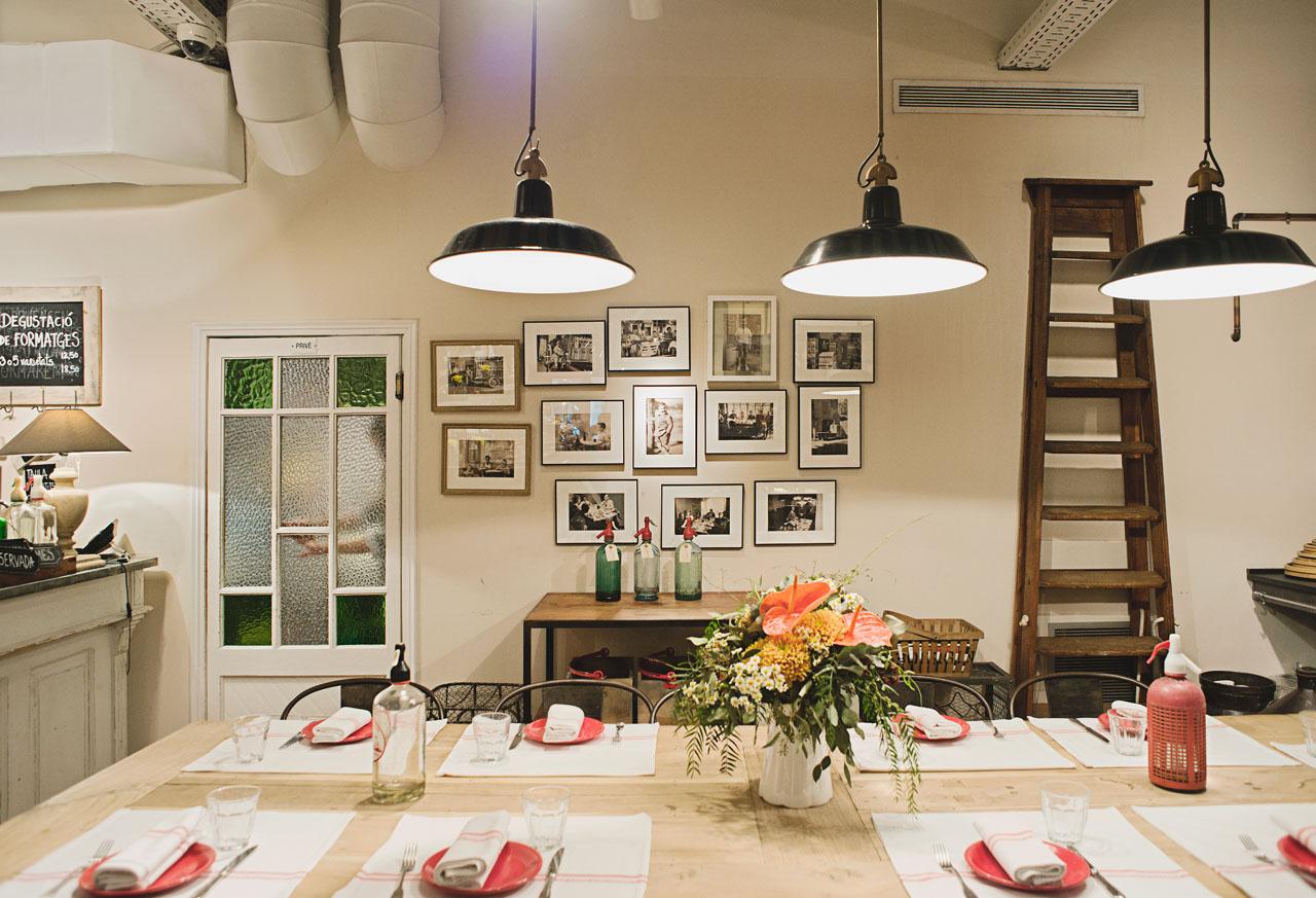 巴塞罗那素食餐厅 Les Tres a la Cuina Barcelona