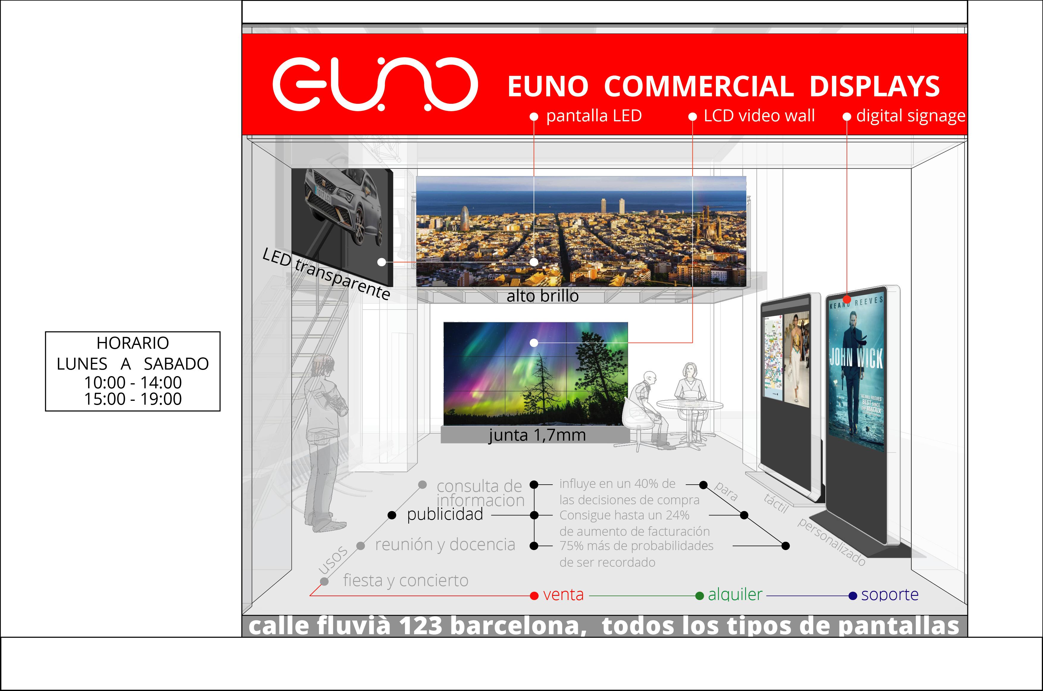 EUNO专业广告屏幕生产厂商