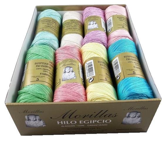 MORILLAS钩针用棉线,在西班牙和亚马逊欧洲的所有中国义卖市场中均排名第一。自1986年以来,MORILLAS®钩编线就开始在纺织领域中使用。✅毕生致力于棉线和幻想